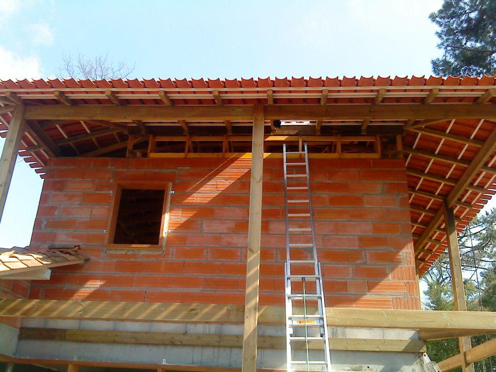 Couverture de maison avec tuiles sabli res fabricant for Fabricant maison bois