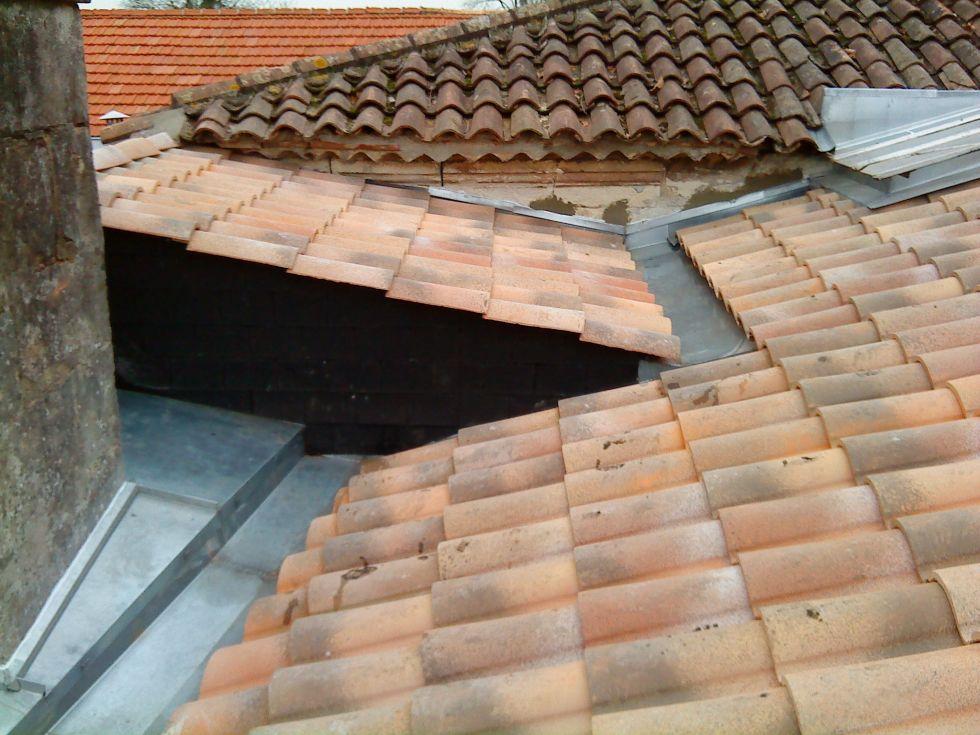 Couverture zinguerie album avant apr s fabricant maison for Fabricant maison bois