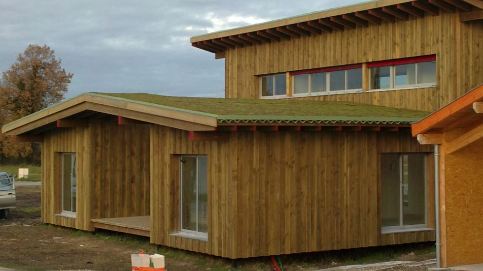 Maison traditionnelle en bois gironde fabricant maison for Maison bois traditionnelle