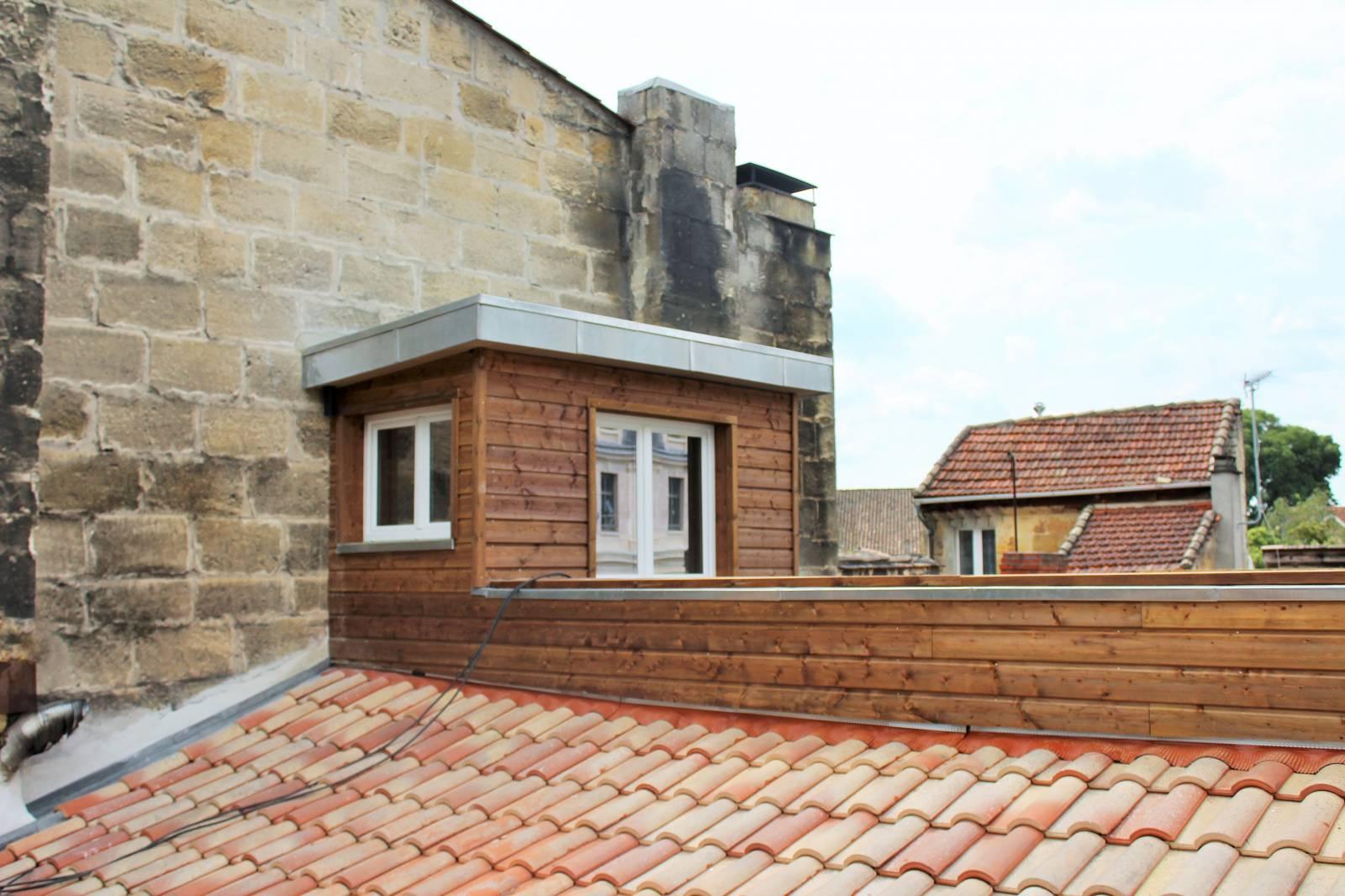 Creer Une Terrasse Tropezienne création d'un toit terrasse sur un vieil immeuble bordelais