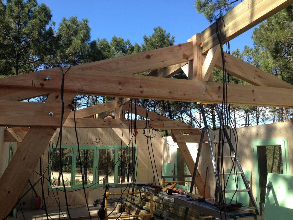 Constructeur de maison en bois ecologique bassin d for Constructeur de maison en bois 33