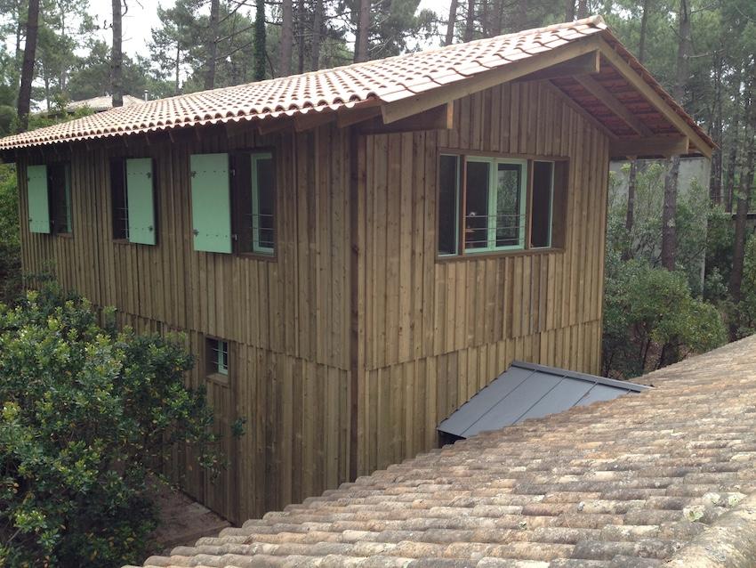 Constructeur de maison en bois ecologique bassin d for Constructeur de maison en bois